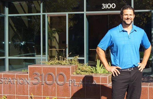 Former Oakland Raider and AIMC student Josh Taves