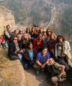 Group Photo at Great Wall of China