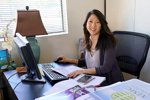 Director of Student Services, Robbyn Kawaguchi of Acupuncture and Integrative Medicine College Berkeley
