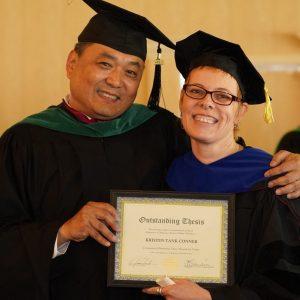 "Doctoral Alumni Spotlight: Author & Acupuncturist Kristen ""tank"" Conner"